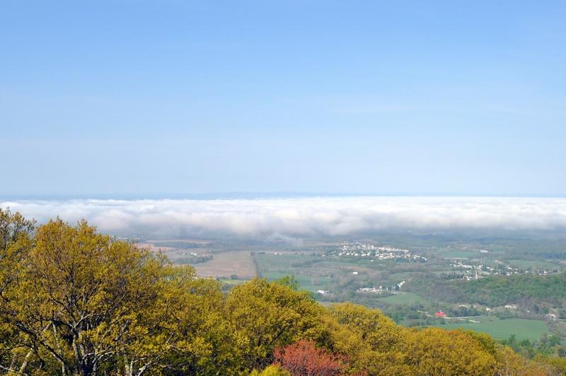 Fog over Boonsboro