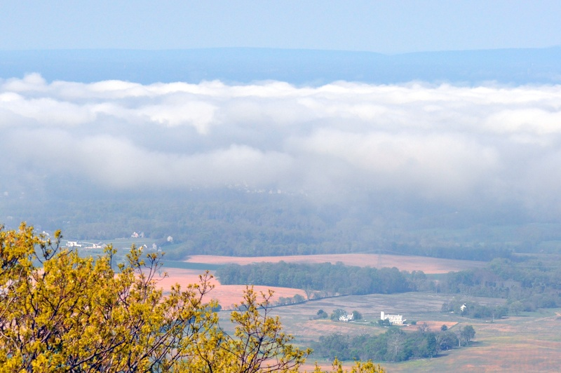 Fog over Boonsboro